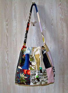Borse di stoffa - Borsa a sacco - un prodotto unico di Alkimya-Bags-Jewelry su DaWanda