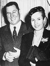 Juan Domingo Peron & Eva Peron