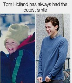 Tom Holland has always had the cutest smile Funny Marvel Memes, Dc Memes, Marvel Jokes, Siper Man, Photographie Indie, Tom Holand, Baby Toms, Tom Holland Peter Parker, Men's Toms