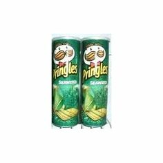 Pringles Potato Crisps Seaweed 110 G. (Pack of 2 Boxes) Thailand Product