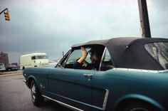 Blue Car - William Eggleston