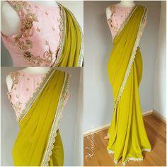 Welcome to Waidurya Saree Blouse Patterns, Saree Blouse Designs, Fancy Sarees, Party Wear Sarees, Indian Dresses, Indian Outfits, Designer Sarees Wedding, Modern Saree, Saree Trends
