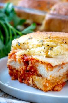 Chicken Parmesan Sliders recipe from Family Fresh Meals Easy Crockpot Chicken, Yummy Chicken Recipes, How To Cook Chicken, Easy Recipes, Dinner Recipes, Cooking Recipes, Family Fresh Meals, Easy Family Meals, Quick Easy Meals