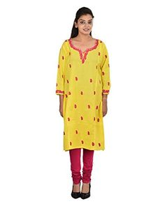 Damyantii Women's Plus Size Straight Large Size Yellow Ku... http://www.amazon.in/dp/B011LCDTPI/ref=cm_sw_r_pi_dp_x_n7CQxb1JC6CKC