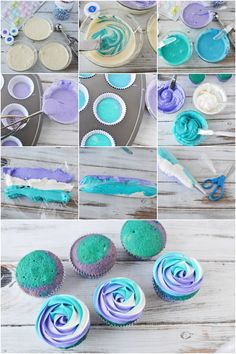 Mermaid cupcakes with swirly ocean frosting mermaid blue ocean cupcakes birthdayparty underwaterparty oceanparty underthesea blue baking treats dessert 21 disney frozen birthday cake ideas and images Frozen Birthday Party, Mermaid Birthday Cakes, 6th Birthday Parties, Birthday Party Decorations, 3rd Birthday, Girl Birthday Cakes Easy, Mermaid Birthday Party Ideas, Frozen Party Food, Elsa Birthday Cake