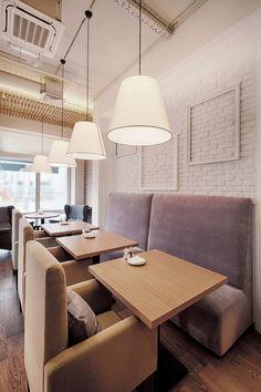 Well`s Cafe - Лучший интерьер ресторана, кафе или бара | PINWIN - конкурсы для архитекторов, дизайнеров, декораторов