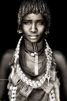 African Portrait by Mario Gerth