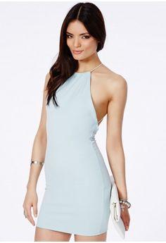 Masumi Spaghetti Strap Mini Dress - Dresses - Mini Dresses - Missguided
