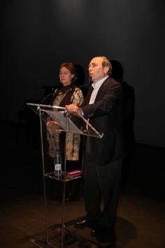 Acto en defensa de la Sanidad Pública en el Teatro Tomás y Valiente de Fuenlabrada.  21/03/2013