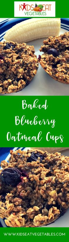 These Baked Blueberry Oatmeal Cups are a total hit with my family. One batch is gone in moments, we grab them for breakfast and pack them for snack, lunches and to take to after school activities. These are great on the go! I find myself making a double