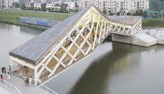 Quingpu Pedestrian Bridge | Ca-Design
