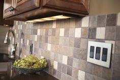 Kitchen Backsplash and lighting