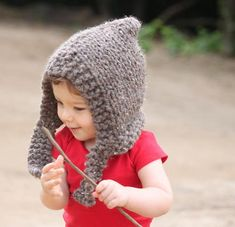 """If you love earthy, whimsical knitting patterns, then this Child's Woodland Hood Pattern should be right up your alley. With a distinct """"child of the forest"""" vibe, this <a href=""""http://www.allfreeknitting.com/tag/Free-Knit-Hat-Patterns-for-Children"""" target=""""_blank"""" title=""""Free Knit Hat Patterns for Children"""">knit kid's hat</a> is bulky, cozy, and adorable. Give your little one a warm hood to wear this autumn and they&..."""