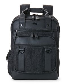 Solo Black Bradford Laptop Backpack Laptop Backpack 322962869e33a