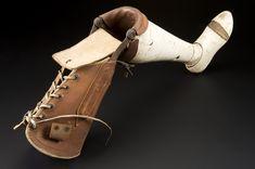 leather prosthetic leg - Google Search