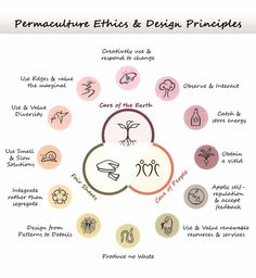 Permaculture Ethics and Design Principles (Lovely Greens)