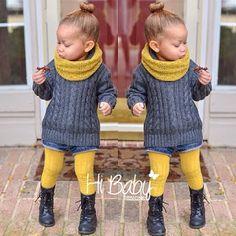 Kids fashion -looks like a little Ashley ; Toddler Girl Style, Toddler Fashion, Kids Fashion, Toddler Fall Outfits Girl, Stylish Toddler Girl, Children Outfits, Children Costumes, Toddler Boys, Little Girl Outfits
