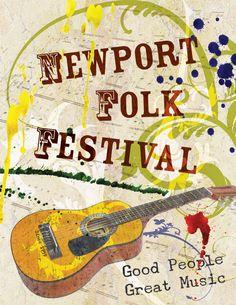 Newport Folk Festival in Newport, Rhode Island