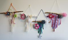 Attrapes reves Formation Couture, Dream Catcher, Creations, Hui, Voici, Home Decor, Pom Poms, Sewing Lessons, Sewing