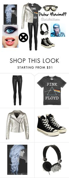 """""""X-Men : Peter Maximoff - Quicksilver"""" by heavymetalvampirequeen ❤ liked on Polyvore featuring Yves Saint Laurent, Floyd, Miss Selfridge, Converse, Quiksilver and Skinnydip"""