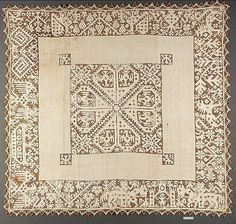 Border  Date: 16th century  Culture: Italian  Dimensions: L. 42 x W. 5 inches (106.7 x 12.7 cm)  Classification: Textiles-Laces-Network  Accession Number: 79.1.78