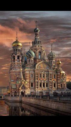 Dan Rabadi St Petersburg, Russia would love to visit this place #beautiful #exotic