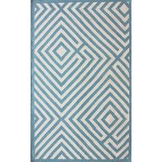 I pinned this Diamante Rug in Light Blue from the nuLOOM event at Joss & Main!