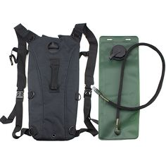 SZ-LGFM-3L Hydration System Water Bag Pouch Backpack Bladder Hiking
