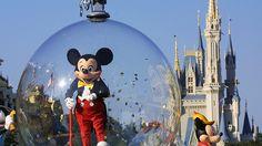Parque Magic Kingdom da Disney em Orlando, nos Estados Unidos