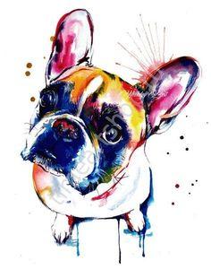 Французик-попрошайка, картины раскраски по номерам, на подрамнике кисти и краски в комплекте,размер 40*50см, цена 750 руб