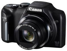 Máquina Fotográfica Digital CANON Powershot SX 170 IS 6º lugar semana de 20 a 26 de março de 2014