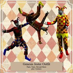 Genesis Jester Outfit LOL