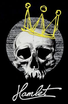"EatSleepDraw • ""Hamlet Poster"" by Leigh McNeil-Taboika"
