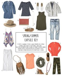 Get all the outfit inspiration you need this Spring with White Plum's Spring wardrobe capsule. www.whiteplum.com #whiteplum #sp