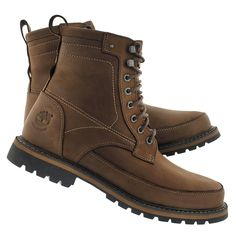 Timberland Men's CHESTNUT RIDGE dark brown waterproof boots TB05535A242