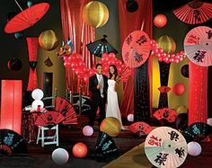 Travel to the Far East with a One World Theme Prom | Prom Ideas ...