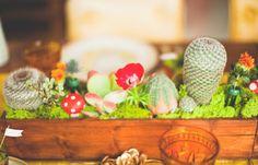 precious Super Mario Bros. inspired cactus garden