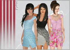 3 Summer Sundresses at Ny Girl Sims – Social Sims