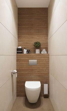 Washroom Design, Bathroom Design Luxury, Bathroom Layout, Modern Bathroom Design, Bathroom Ideas, Budget Bathroom, Small Downstairs Toilet, Small Toilet Room, Small Toilet Decor