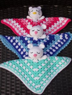 Diy Crafts - Hello hello my lovelies! Crochet Square Blanket, Crochet Lovey, Crochet Stars, Crochet Bebe, Crochet Bunny, Crochet Gifts, Crochet For Kids, Knit Crochet, Bunny Blanket