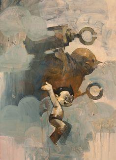 #Astroboy en oleos