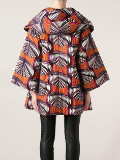 Stella Jean Structured Oversize Coat