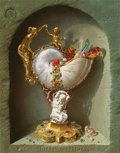 Spanish artist Miriam Escofet realist painting - Paintings-Gallery.com