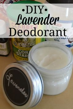 In order to keep from putting so many chemicals on my daughter I started making her this DIY Lavender Deodorant. This deodorant is easy and cheap to make!