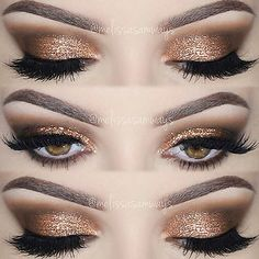 Eyemakeupart provides new eye makeup tutorial. How to make up your eye and how to do special design your eye. Prom Eye Makeup, Night Makeup, Wedding Makeup, Prom Make Up, How To Make Hair, Eye Make Up, Eyeliner Make-up, Makeup Art, Beauty Makeup