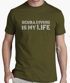 T-shirt Scuba Diving is my Life