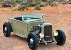 All-Steel Traditional: 1931 Ford Model A Roadster