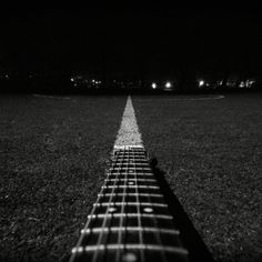 #guitar #night #music #football #field #dark #grass Check this out! Taken about a hour ago!