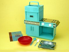 toys from the 60's. My girlfriend and I put red hots in this to bake them and I will never forget how awful they smelled and how they stuck to the tray!