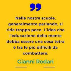 Gianni Rodari Citazioni Scuola
